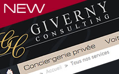 Le nouveau site Giverny Consulting -