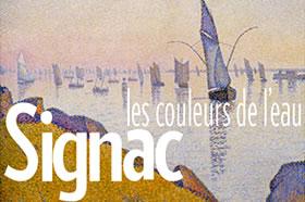 """Exposition au Musée des impressionnismes Giverny """"Signac, les couleurs de l'eau"""" -"""