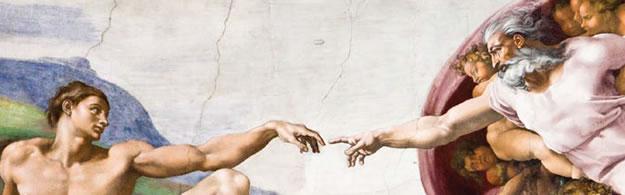 Michel-Ange, The creation of Adam