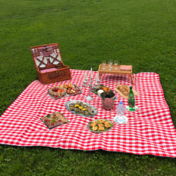 Organisation d'un déjeuner sur l'herbe à Versailles
