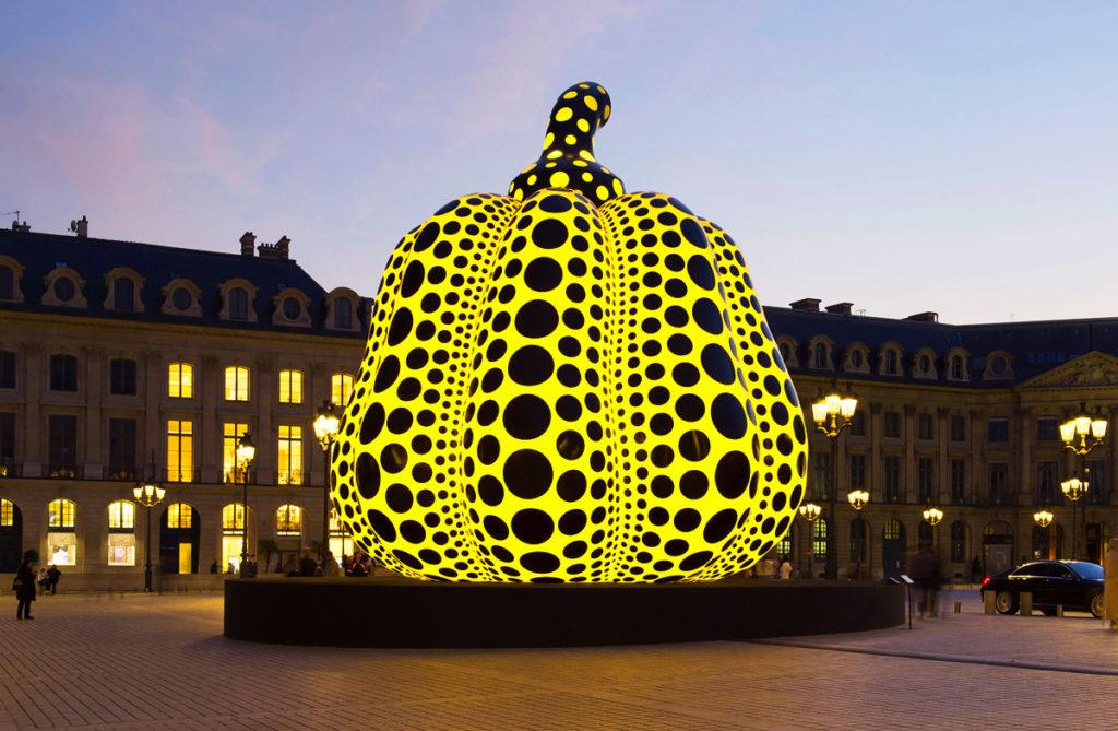 Citrouille géante Place Vendôme